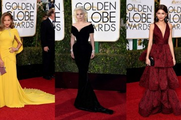 Golden Globe Awards 2016 Best Dressed Ladies