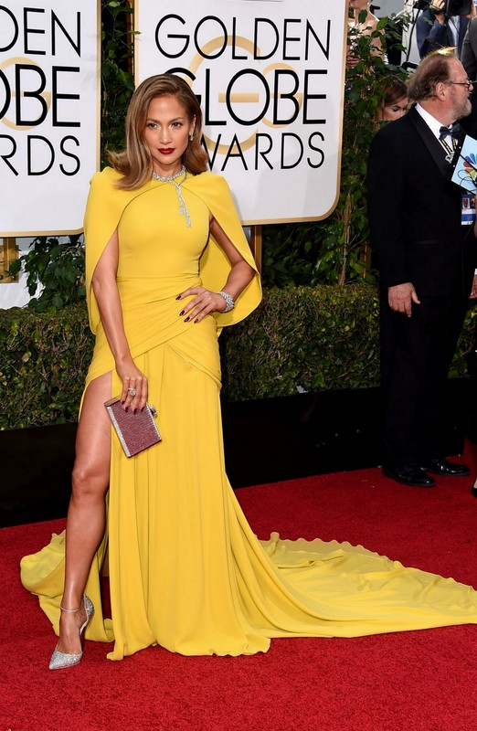 Jennifer Lopez at Golden Globe Awards 2016