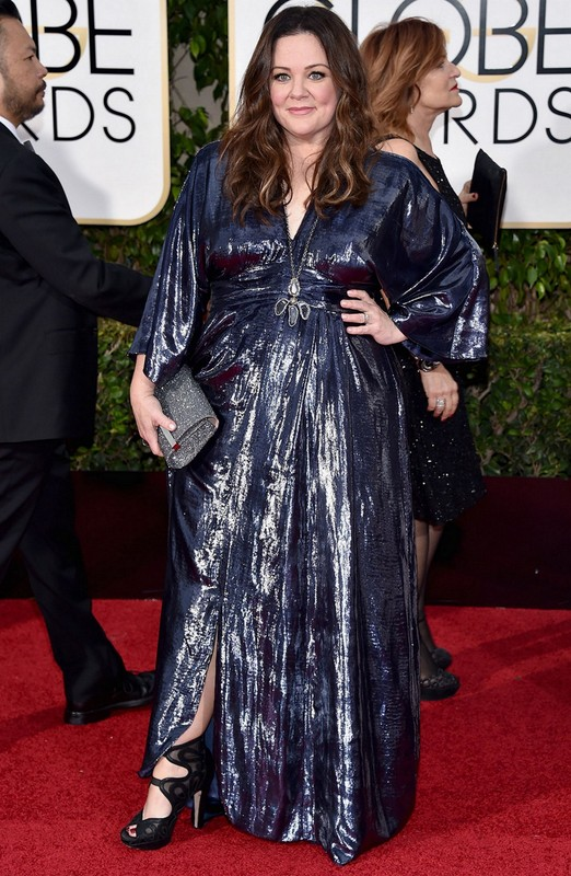 Melissa McCarthy at Golden Globe Awards 2016