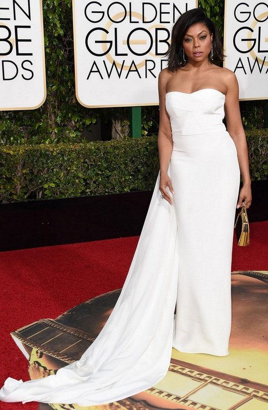 Taraji P Henson at Golden Globe Awards 2016