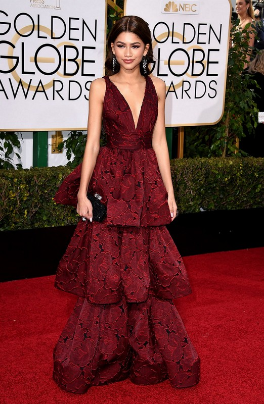 Zendaya at Golden Globe Awards 2016