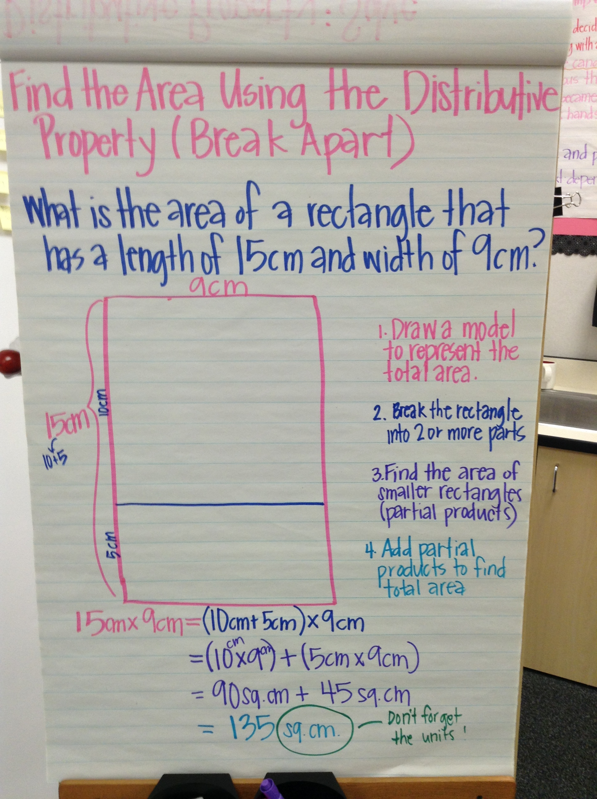 Multiplication And Area