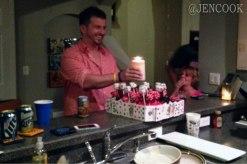The birthday boy turns 30!