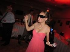 Amy rocking Grandma's glasses!
