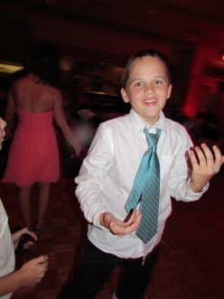 Brendan hits the dance floor!
