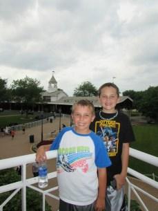 Fun at Arlington Racetrack!