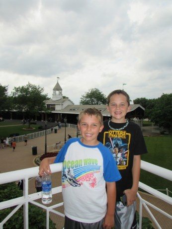 Fun at Arlington Racetrack!
