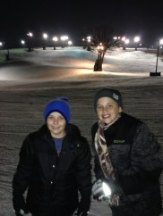 SNOW in Wisconsin!