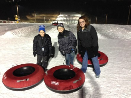 Tubing in Wisconsin!