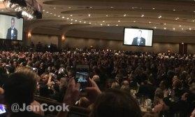 The White House Correspondents Dinner.
