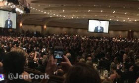 The White House Correspondents Dinner.