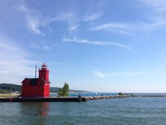Big Red Lighthouse in Holland, Michigan.