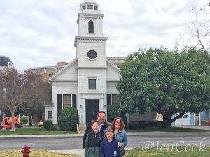 The Stars Hollow Church.