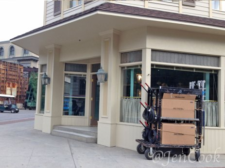 Luke's Diner in Stars Hollow on the Warner Brothers studio tour.