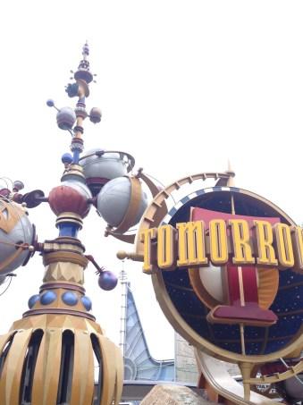 Disneyland's Tomorrowland