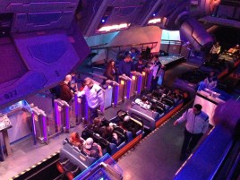 Hyper Space Mountain - and it's a 2-seater!