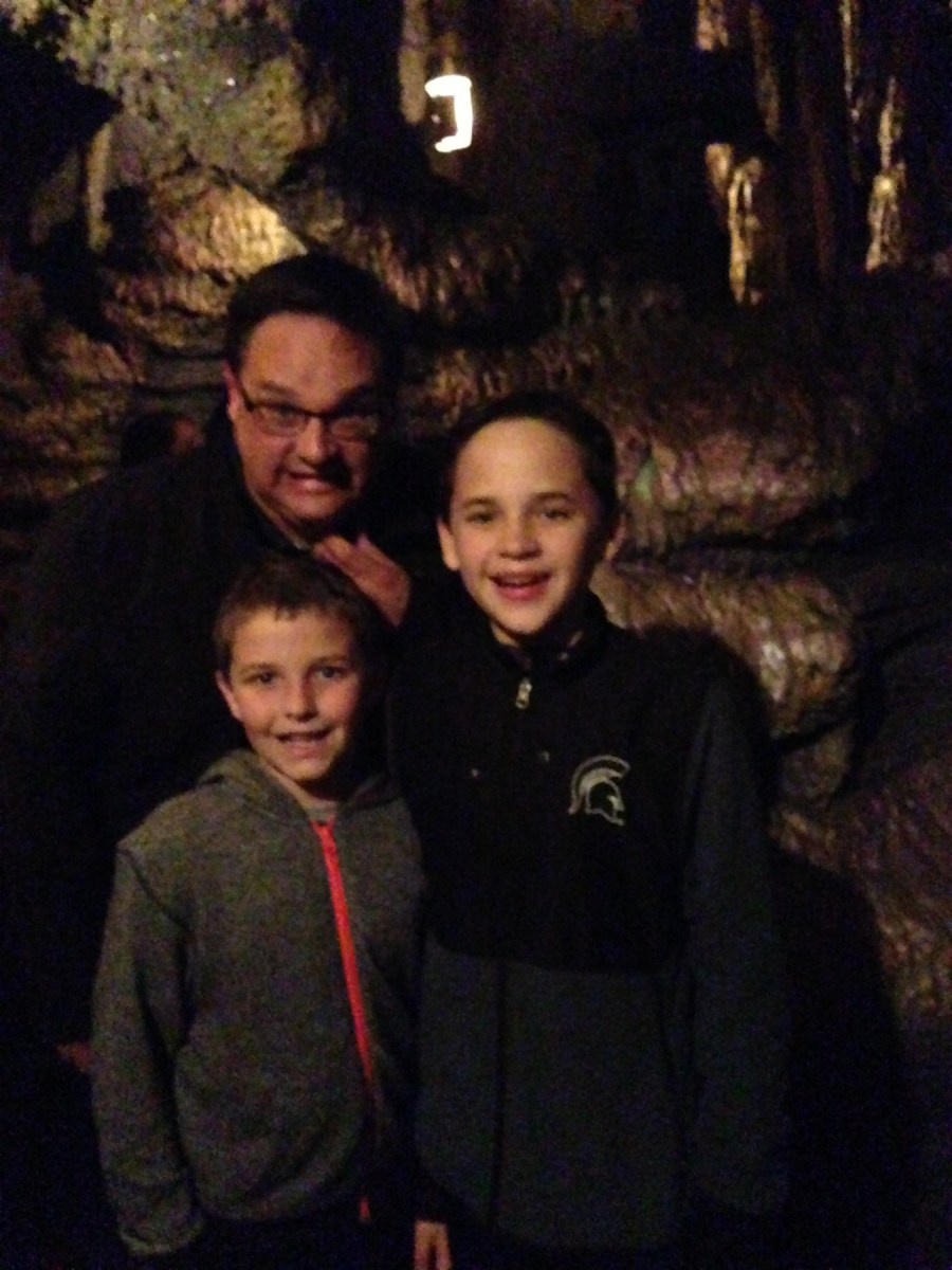 Getting ready to ride Indiana Jones.