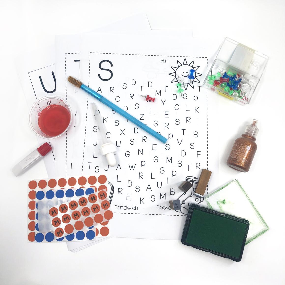 6 Fun Ways To Do Alphabet Hunt Worksheets Mrs Jigg