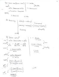 Easy Trigonometric Identities Practice Worksheet ...