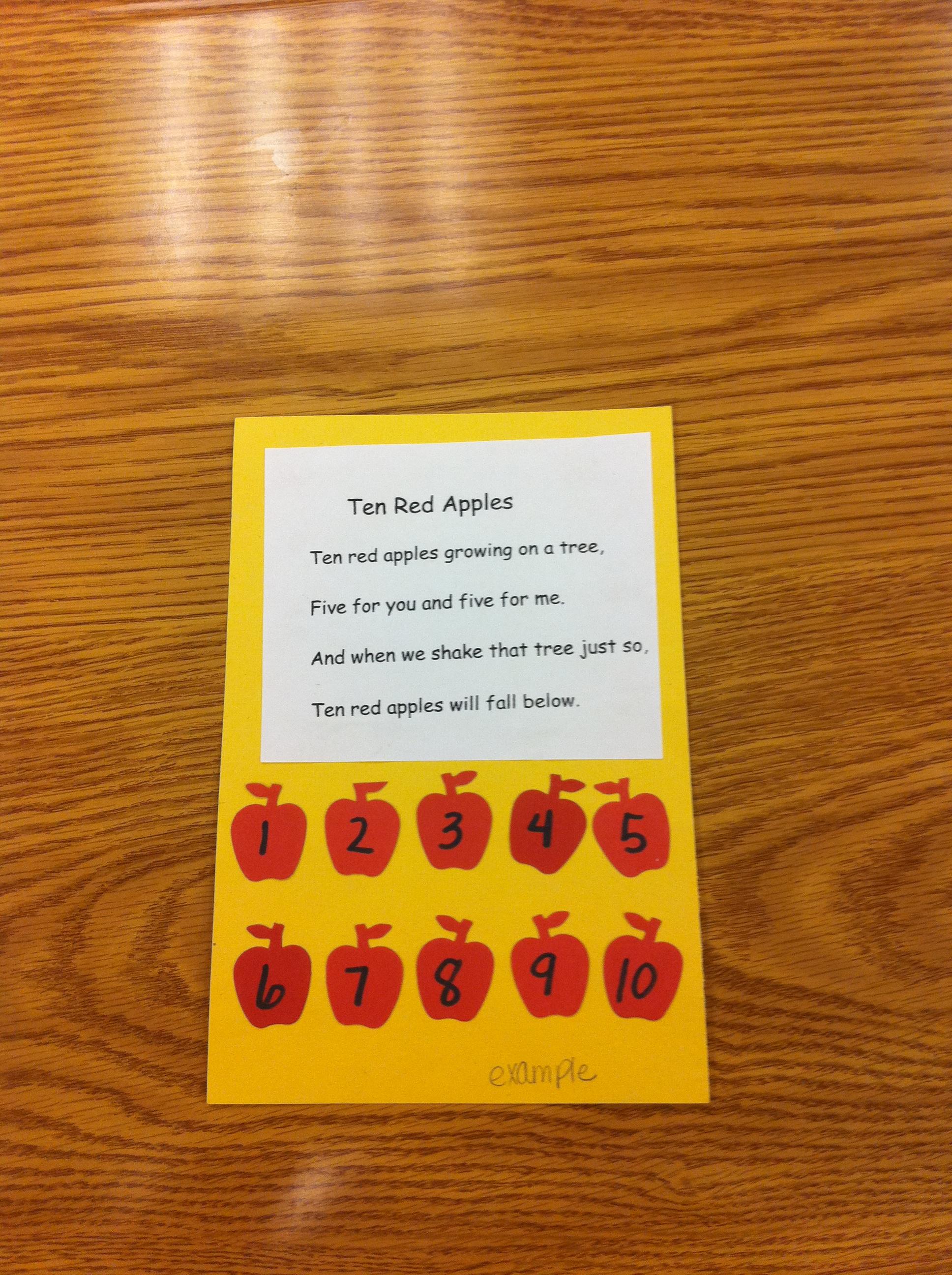 New Apple Ideas Mrs Kilburn S Kiddos