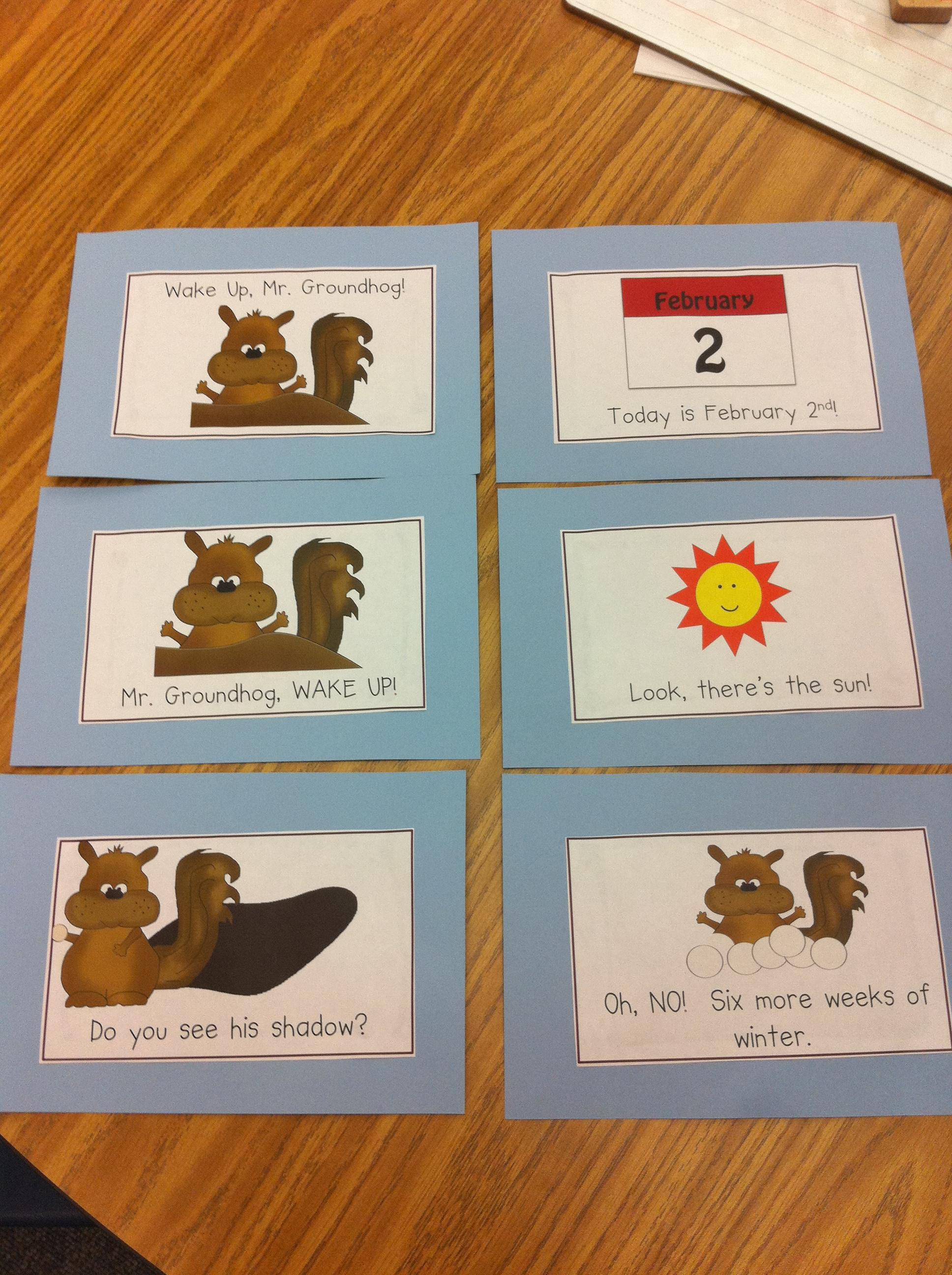 hight resolution of groundhog day – Mrs. Kilburn's Kiddos