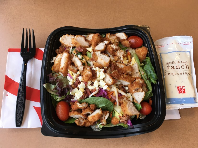 Low Carb Chick-Fil-A Cobb Salad