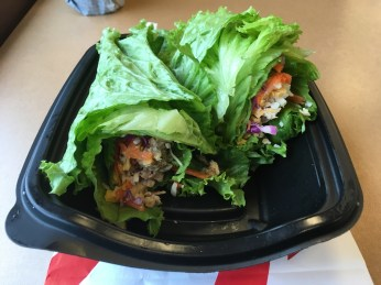 Low Carb Chick-Fil-A Grilled Chicken Cool Wrap Closed