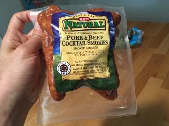 Keto Cocktail Smokies Ingredients