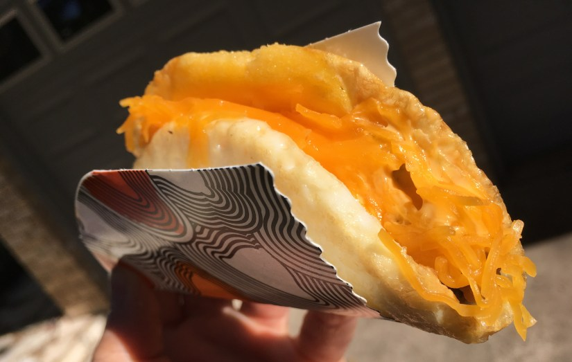 Taco Bell Low Carb Naked Egg Taco (No Potatoes)