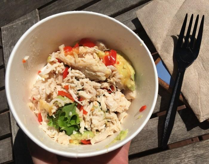 Panera Low Carb Chipotle Chicken Avocado Melt Sandwich (No Bread)