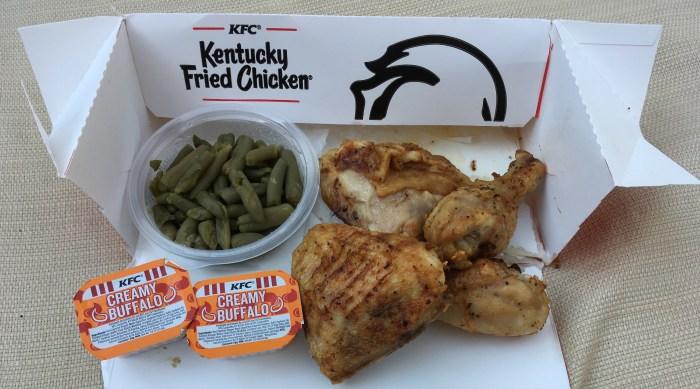 Poulet grillé à faible teneur en glucides KFC