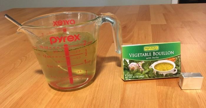 Keto Headache Cure Vegetable Bouillon