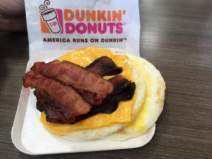 Low Carb Dunkin Donuts Big N Toasted