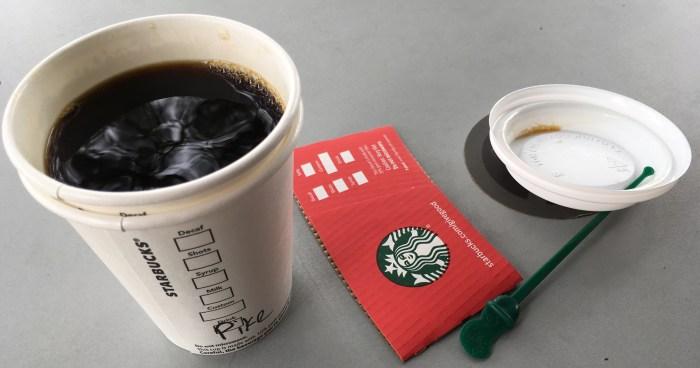 Low Carb Starbucks Drinks - Pike Place Roast