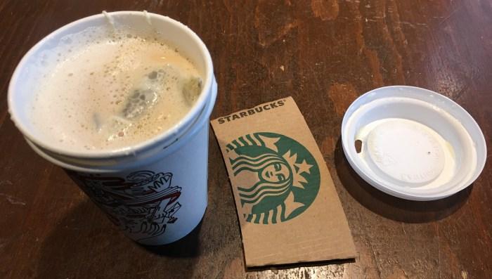 Low Carb Starbucks London Nebel Tee