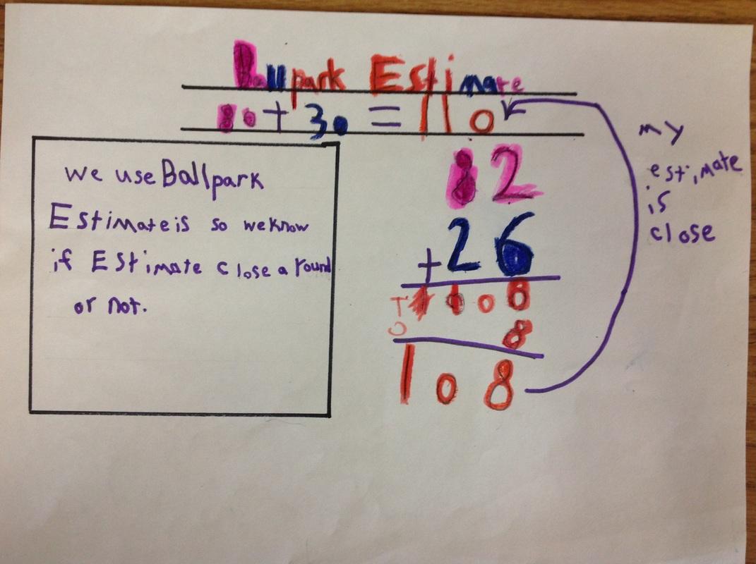 Made By Teachers Ballpark Estimate 2nd Grade