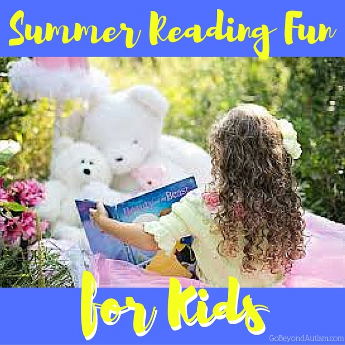 Summer Reading Fun for Kids