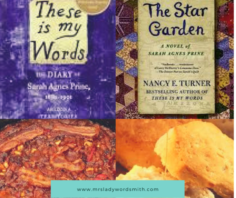 Baked beans biscuits and a good book recipes to make for these is recently i loved reading sarahs quiltaffiliate link and treating myself to some homemade western food forumfinder Images