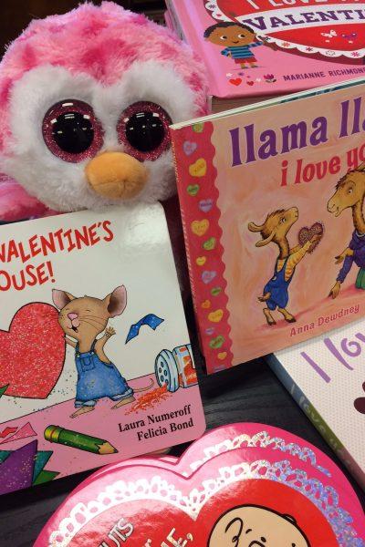 141 Ideas: Mega List of Valentine's Books for Children