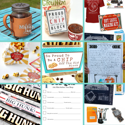 19 Father's Day Gift Ideas & Free Printables That POP!