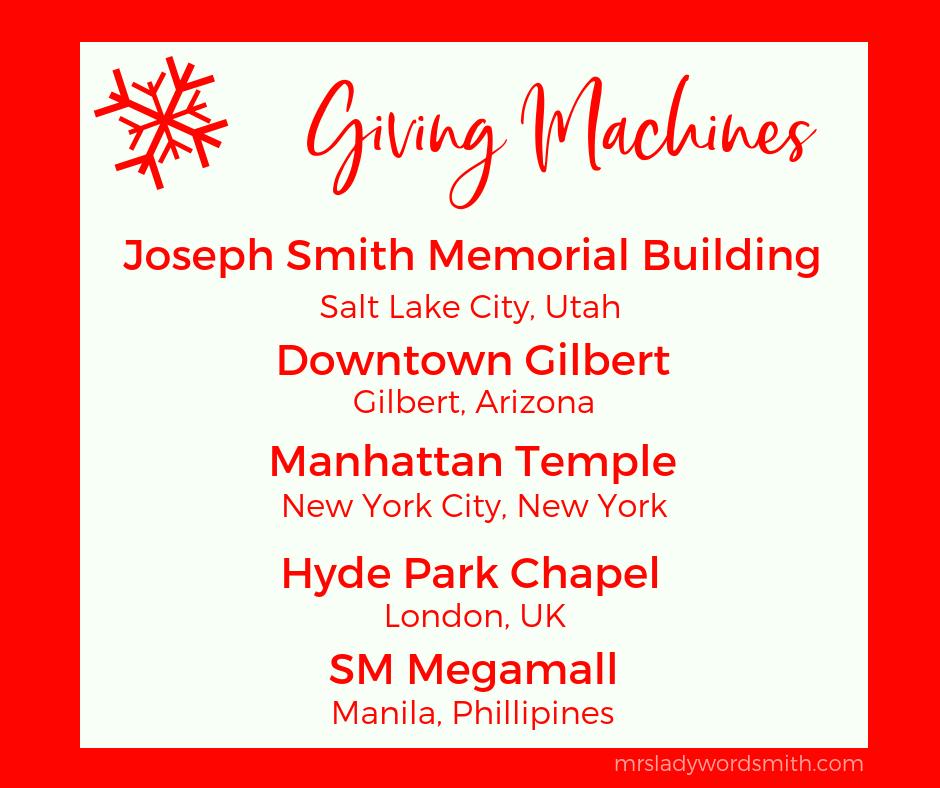 Giving Machines #LightTheWpr;d