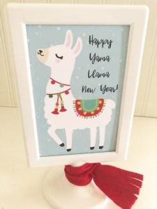 Happy Yama Llama New Year