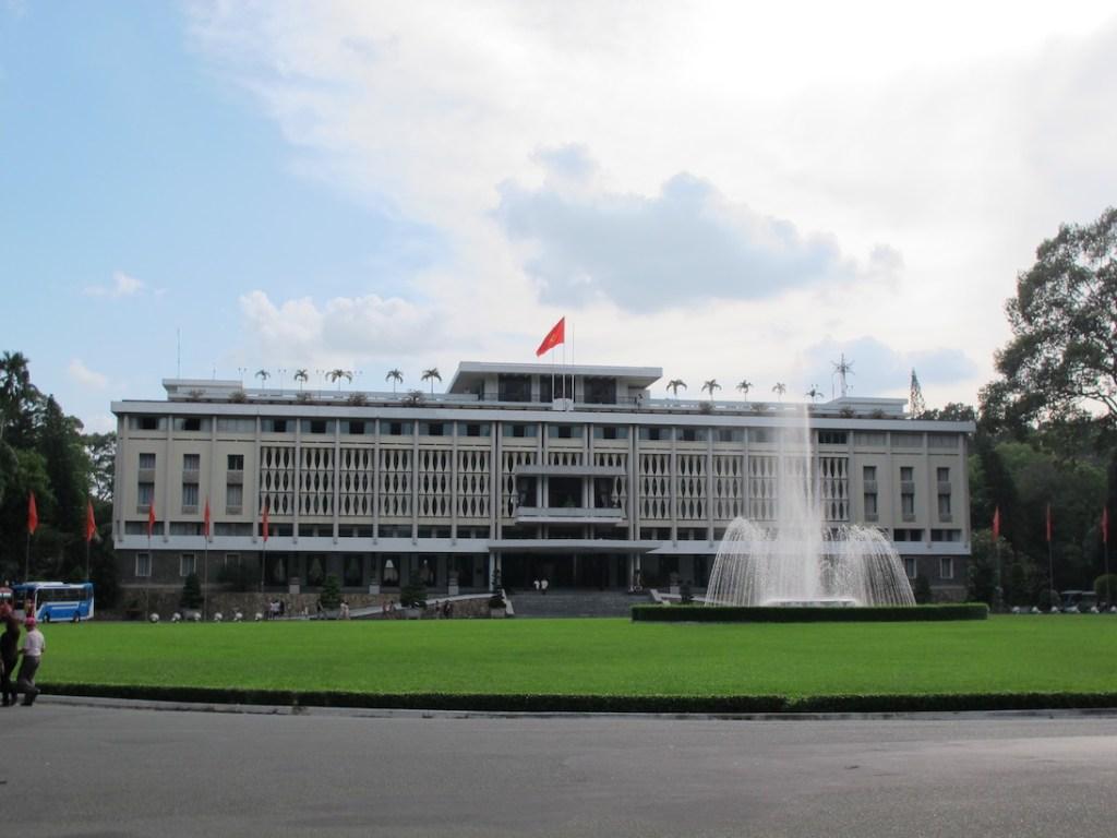 胡志明市景點-統一宮