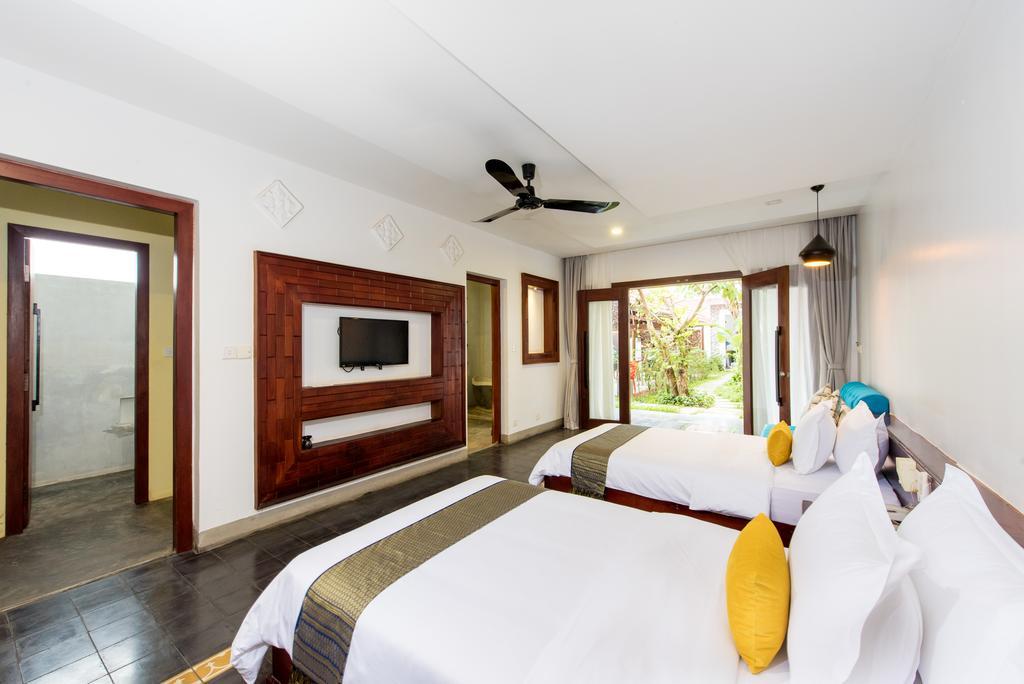 吳哥窟住宿 Chaming Angkor 裝修後房間