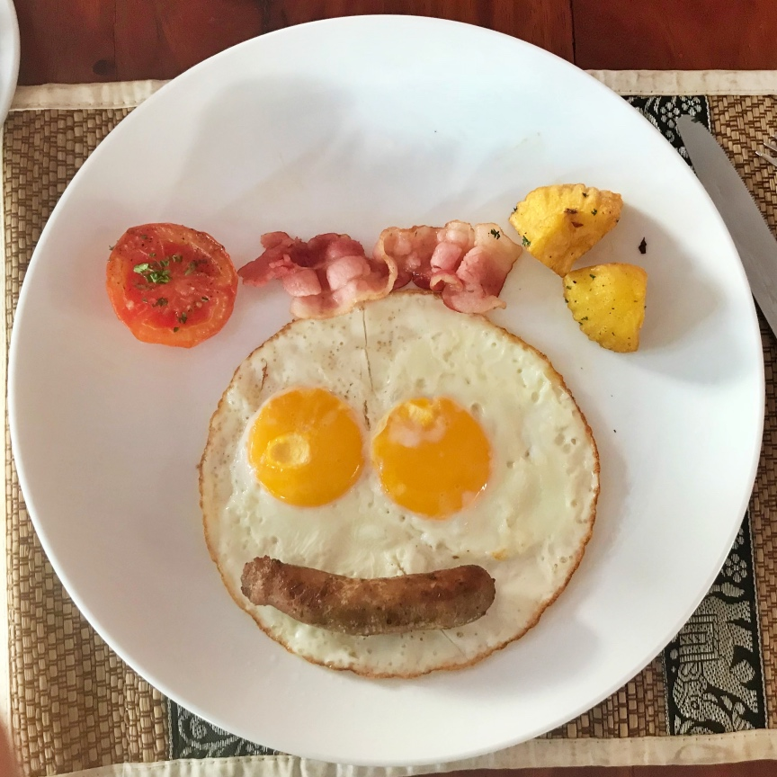 吳哥窟住宿 Charming Angkor 笑笑早餐