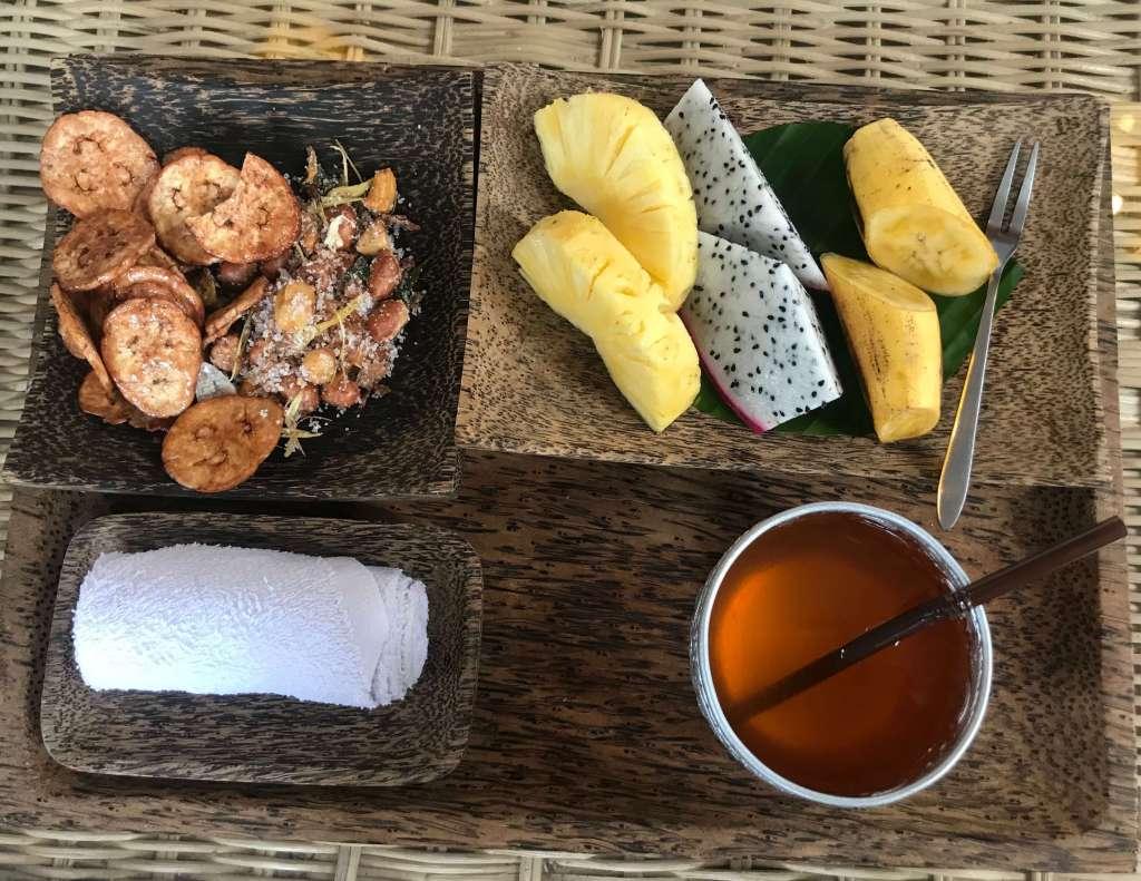 吳哥窟住宿 Charming Angkor Residence (Chez moi) 迎賓水果