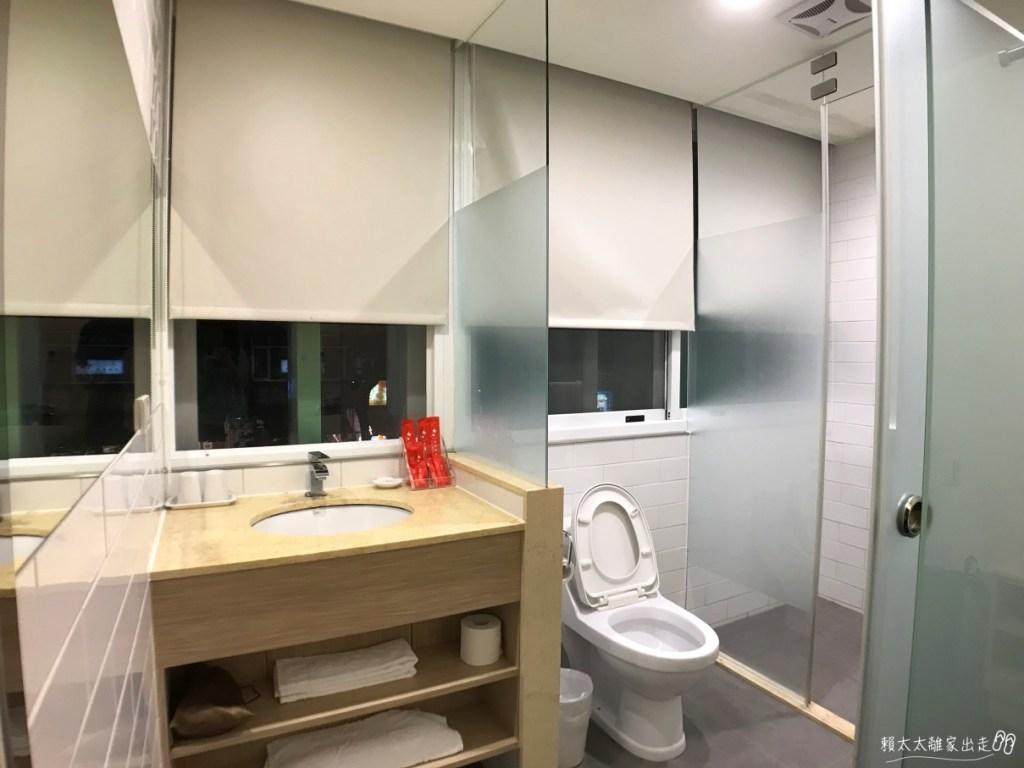 西悠飯店浴室