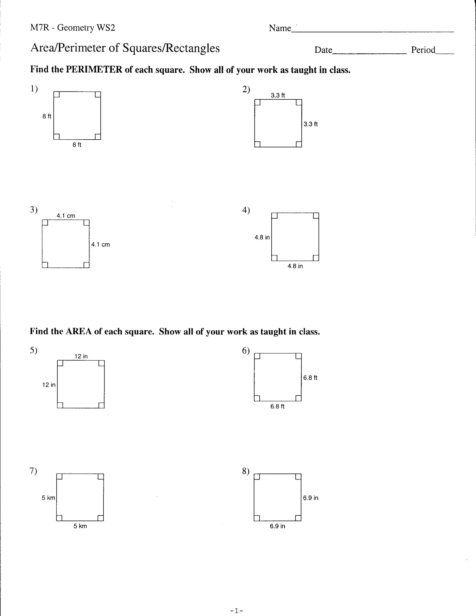 hight resolution of 9th Grade Geometry Worksheets   Printable Worksheets and Activities for  Teachers