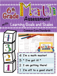 6th Assess Cover