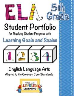 5th ELA Portfolio Pages